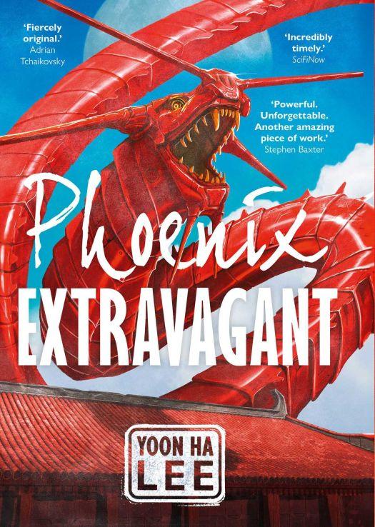 The cover of Yoon Ha Lee's Phoenix Extravagant