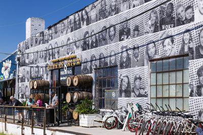 Wicked Weed Brewing brewpub and Funkatorium restaurant on...