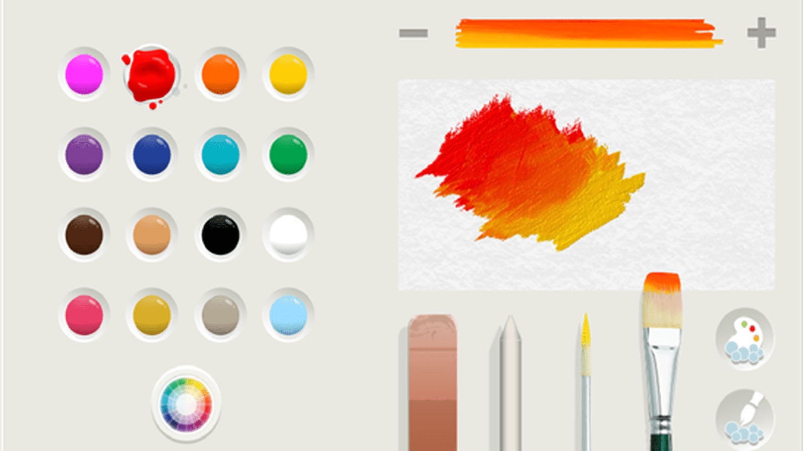 Fresh Paint App User Guide