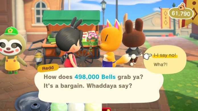 Jolly Redd tries to rip off an Animal Crossing character