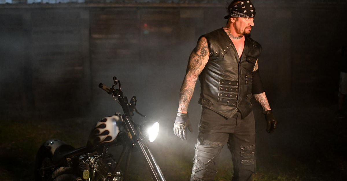 The Undertaker is hunting for lost treasure with Triple H