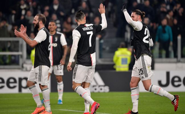 Ronaldo New Look Midfield Propel Juventus Past Roma