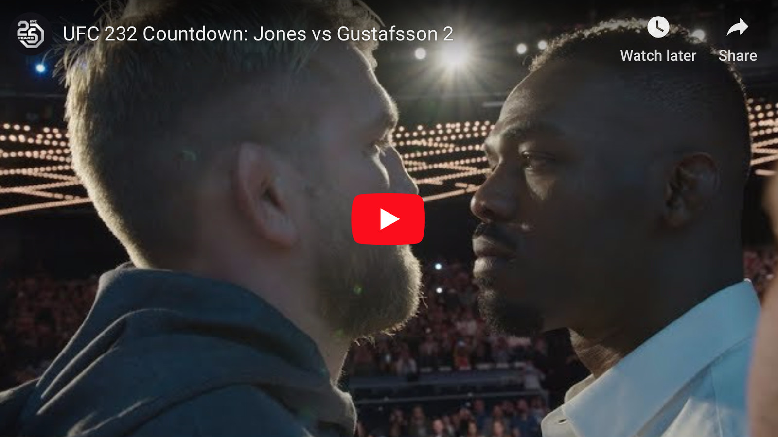 Video: 'Countdown to UFC 232' full video replay for 'Jones vs Gustafsson 2' - MMAmania.com