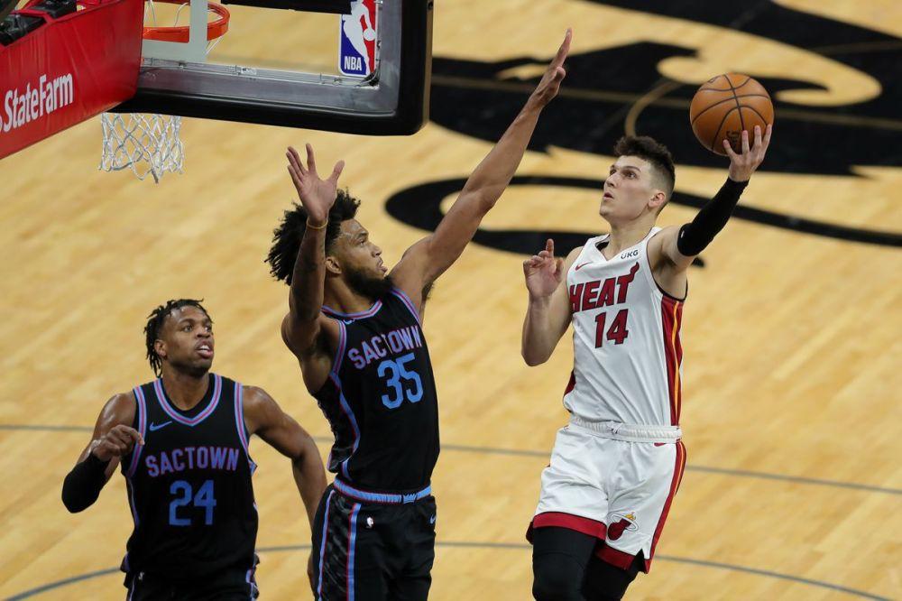 Αποτέλεσμα εικόνας για Miami Heat Sacramento Kings 118-110