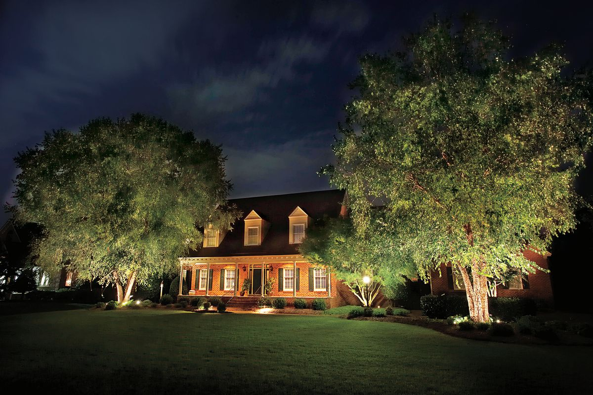 all about landscape lighting this old