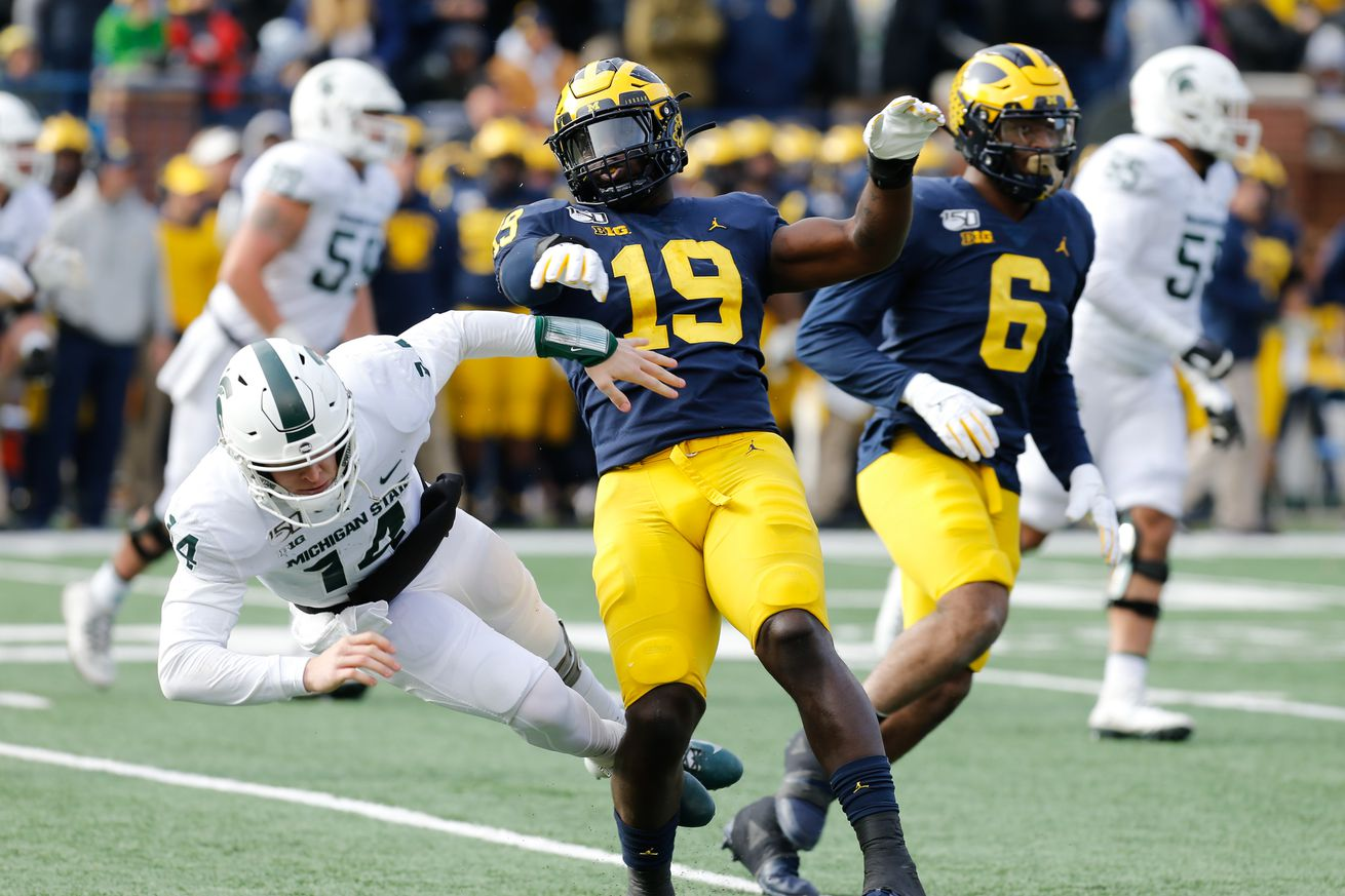 COLLEGE FOOTBALL: NOV 16 Michigan State at Michigan