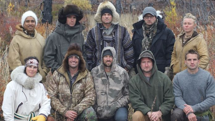 """The 10 contestants who braved the Arctic in winter on the History Channel's """"Alone."""""""