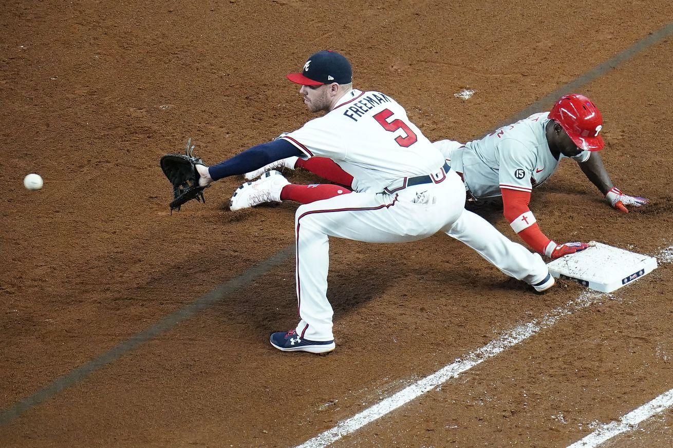MLB: MAY 08 Phillies at Braves