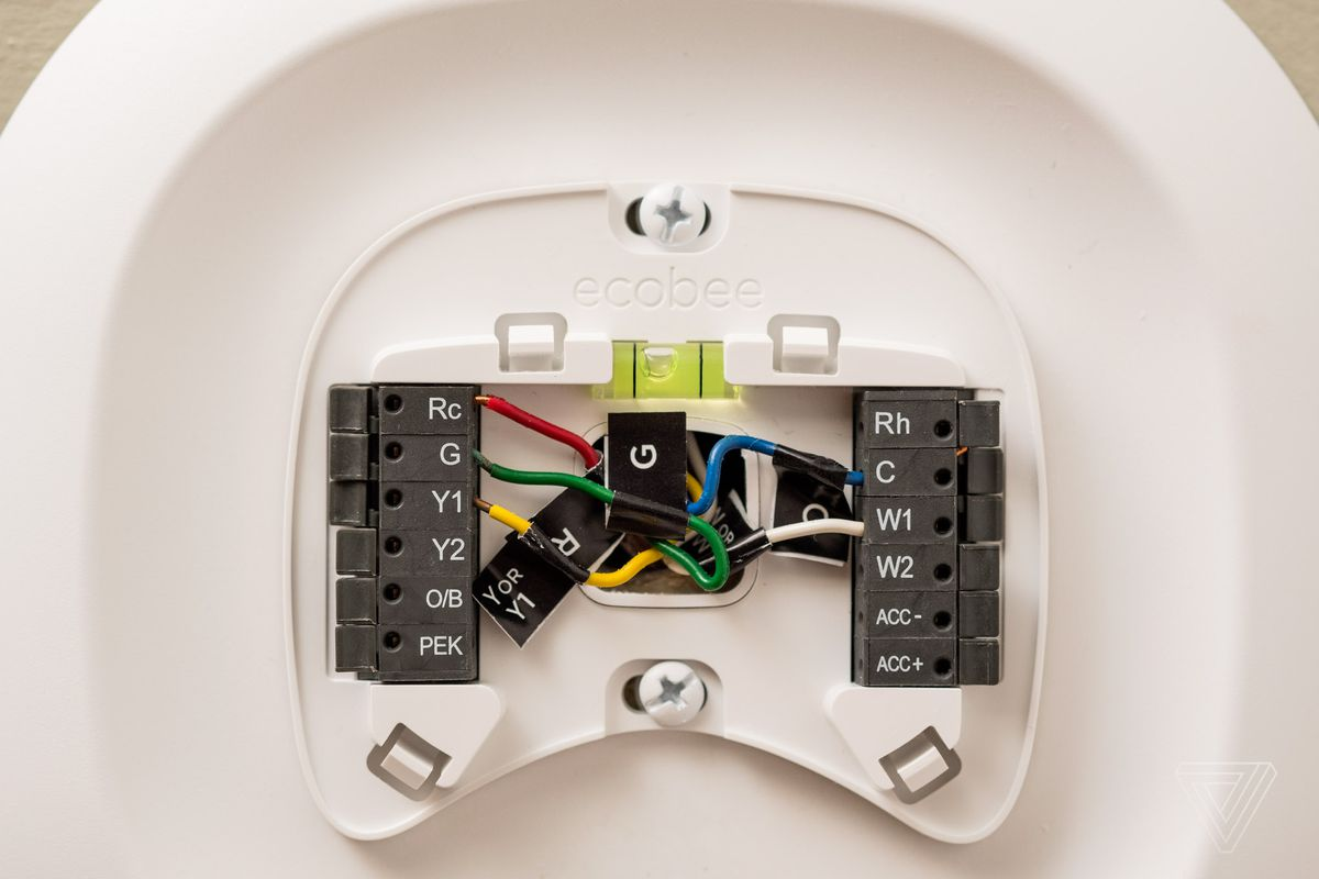 ecobee wiring diagram alarm diagrams for cars ecobee4 review a thermostat with alexa built in the verge