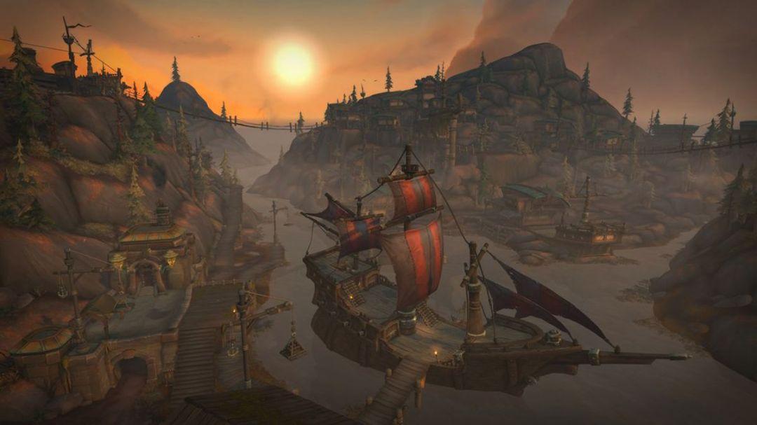 World of Warcraft's Boralus