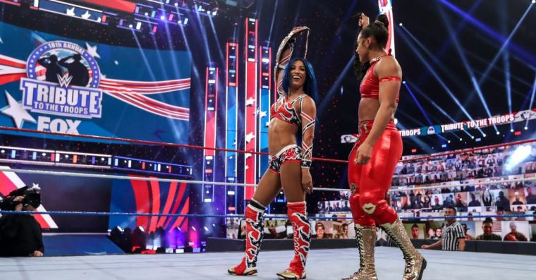 Sasha Banks and Bianca Belair are getting a shot at the women's tag titles