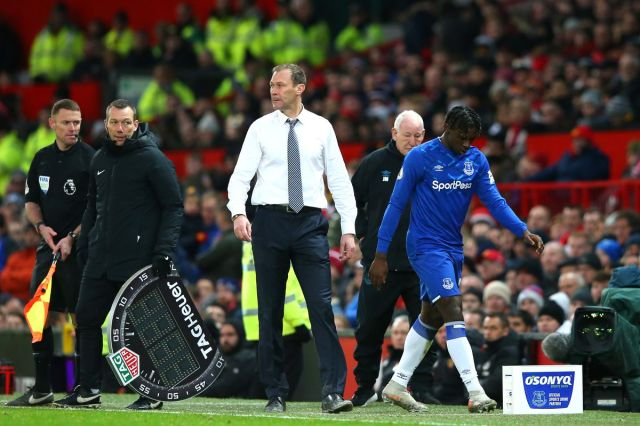 Image result for moise kean subbed off man u