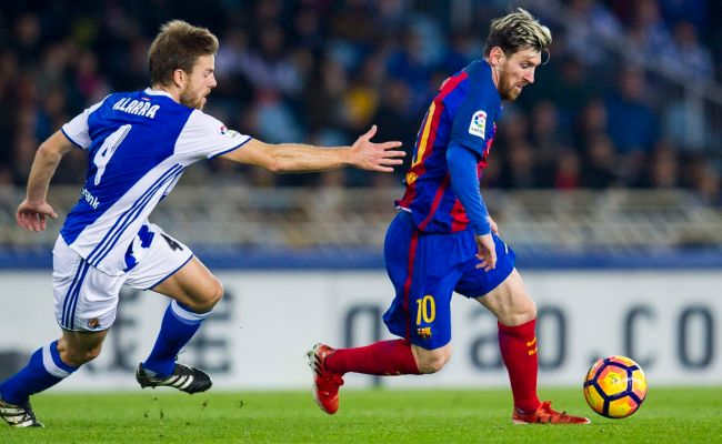 Real Sociedad Vs Barcelona 2016 La Liga Final Score 1 1