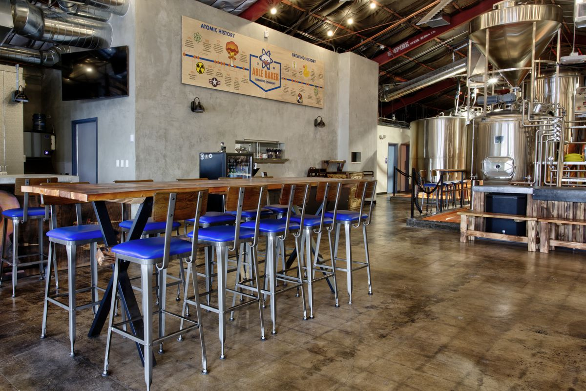 Arts District Craft Kitchen Takes Care Of The Food At Able Baker Brewing Co Eater Vegas