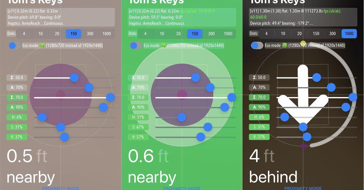 Apple's AirTags have a hidden developer menu