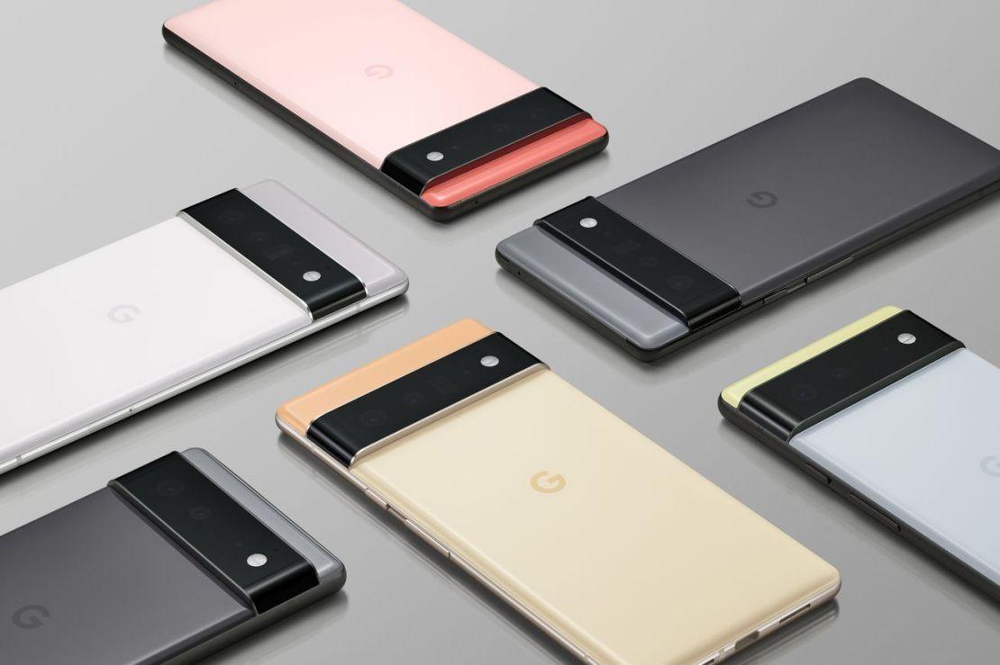 Google's new Pixel 6 phones, regular and Pro