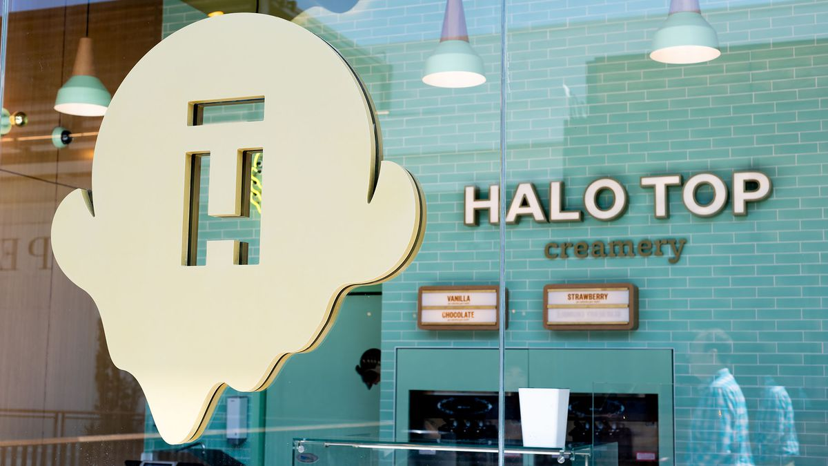 Image result for halo top ice cream shop