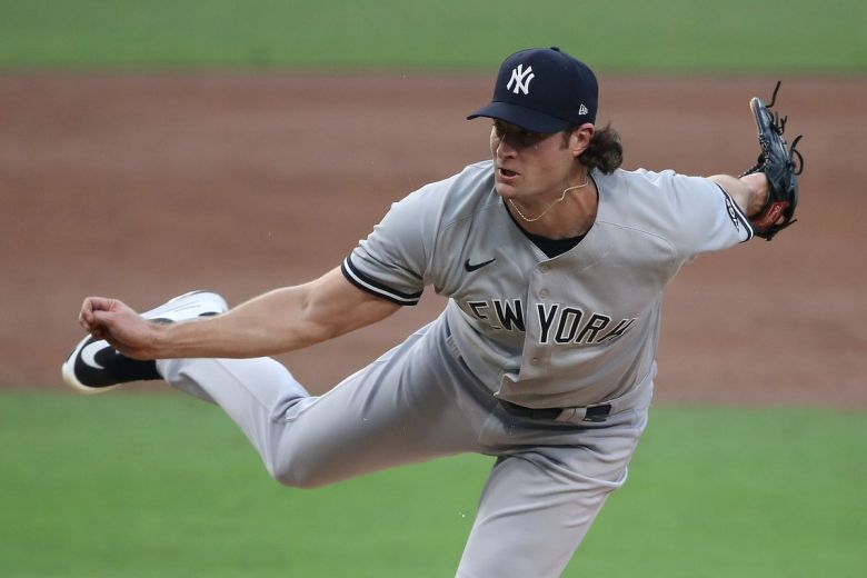 Yankees pitcher Gerrit Cole has the fastball to win without his A-stuff -  Pinstripe Alley