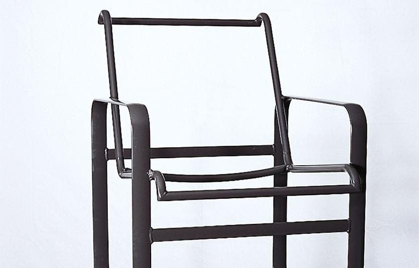 how to repair aluminum patio chairs