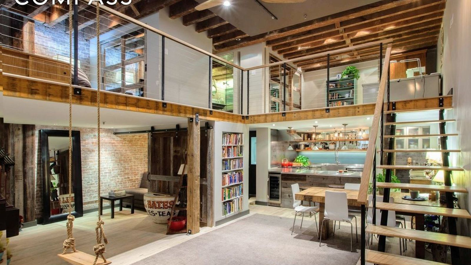 Renovated Tribeca loft with rustic touches wants 165M