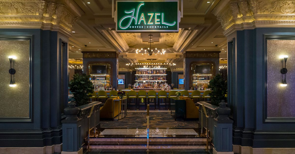Hazel Coffee  Cocktails now open at Mandalay Bay  Eater