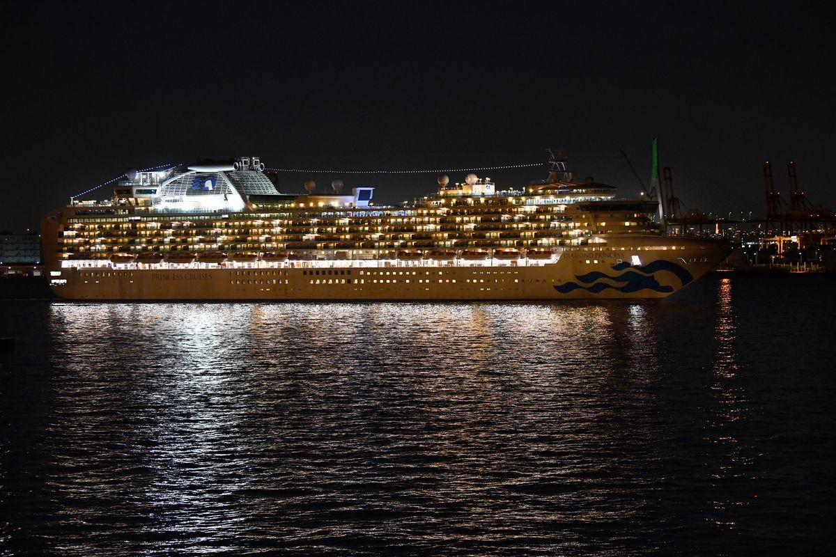 The coronavirus cruise ship quarantine of the Diamond Princess ...