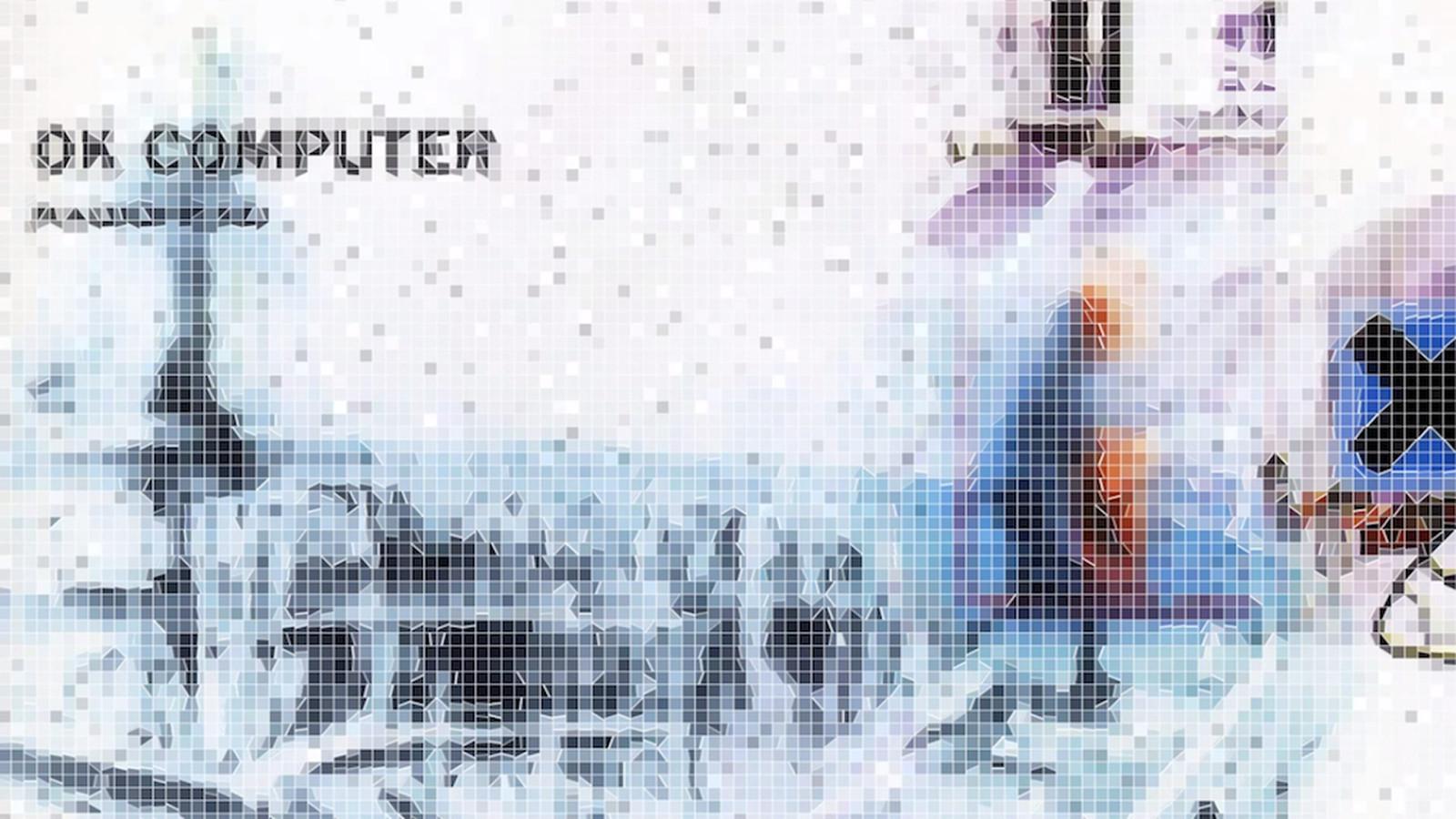 Aviation Wallpaper Iphone X Radiohead S Ok Computer And Kid A Get An 8 Bit