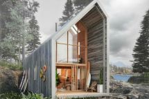 Prefab Home Offers Nature Getaway Flatpack-style - Curbed
