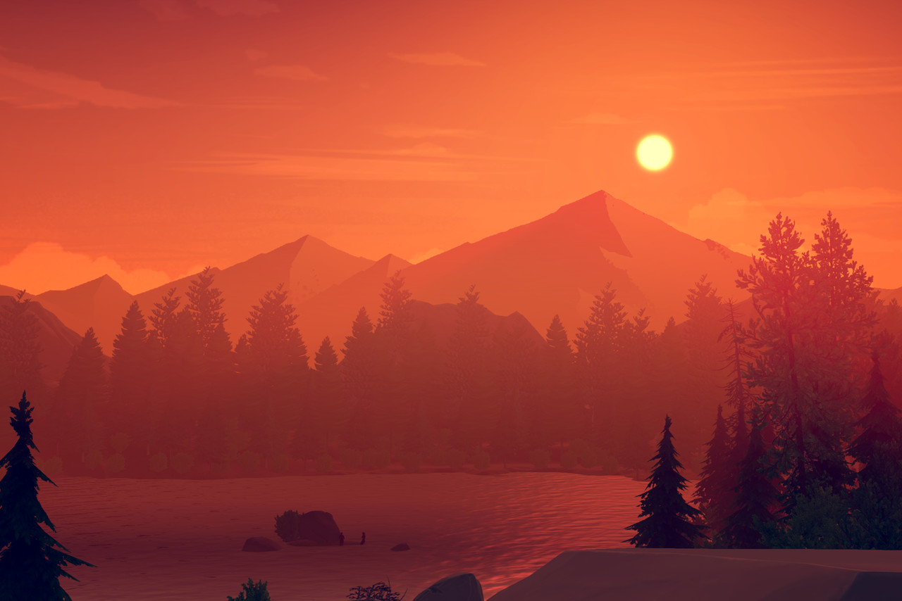 Star Wars Wallpaper Hd 1080p Firewatch Review A Game That Perfectly Captures The