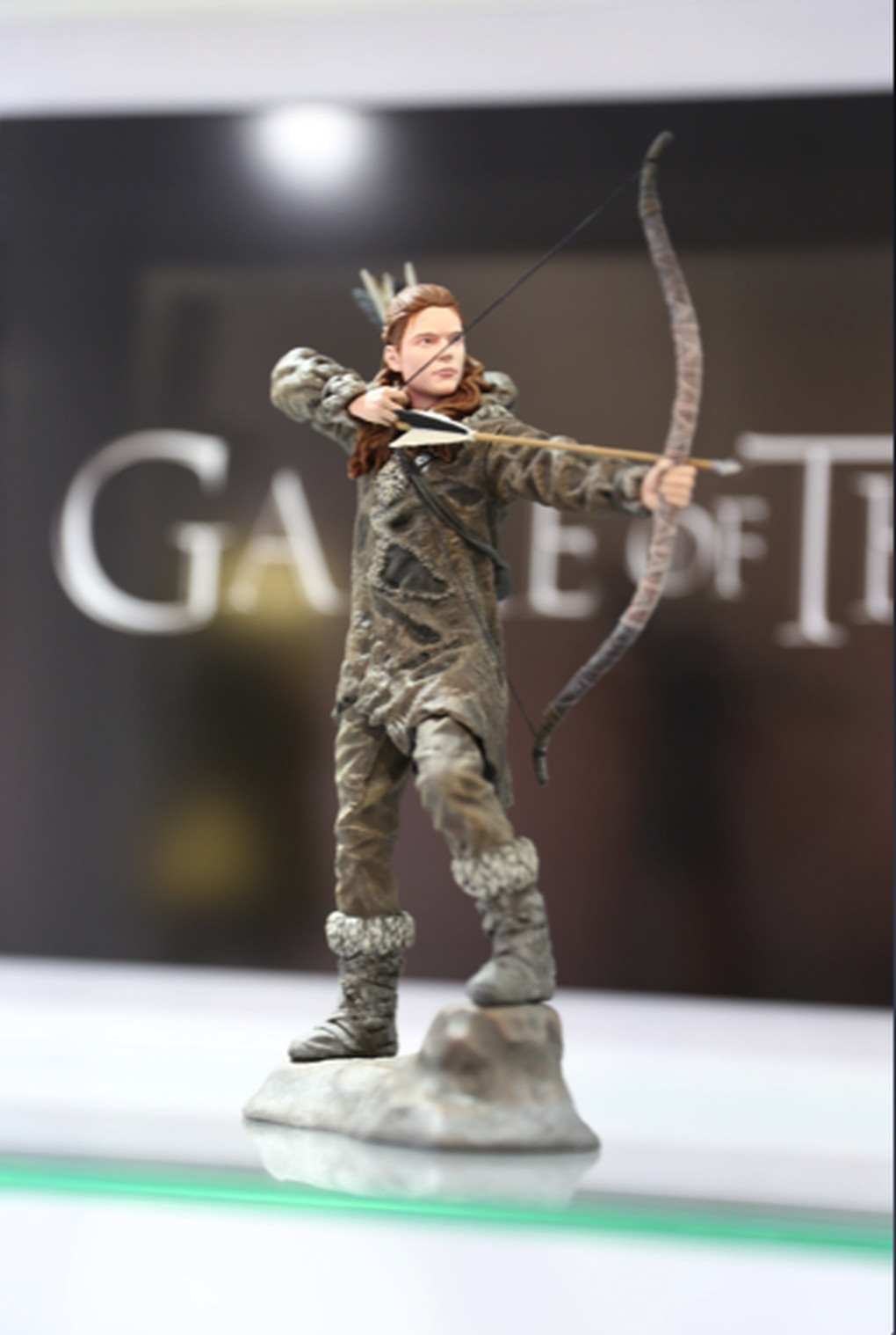 Behold the glorious Game of Thrones dioramas dire wolves and toys of San Diego ComicCon  Polygon