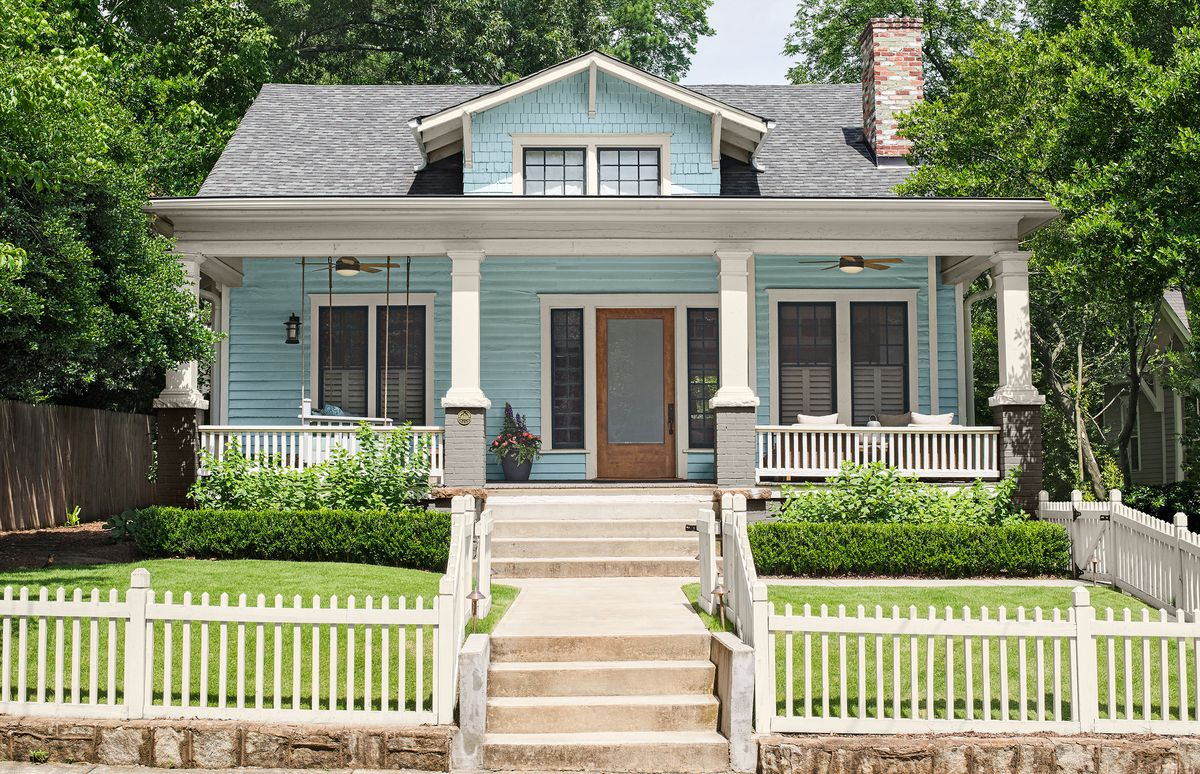 before and after 1920 bungalow remodel