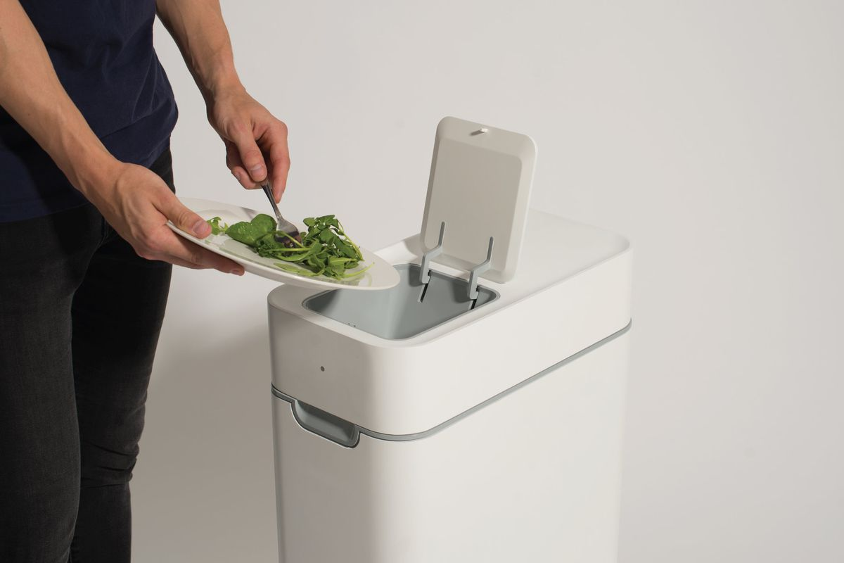 This kitchen compost bin ferments your kitchen waste  Curbed