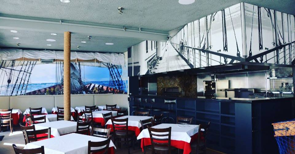 Ahoy a Seafood Restaurant Sails Into Brooklines Washington Square With Nautical Vibes  Eater