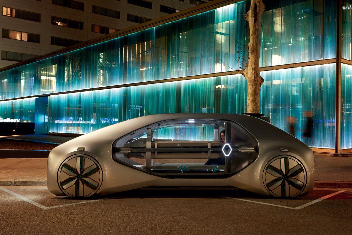 hight resolution of renault s ez go concept car is built for autonomous on demand ride sharing