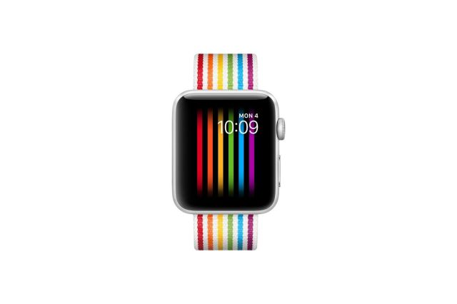 Apple's pride watch face