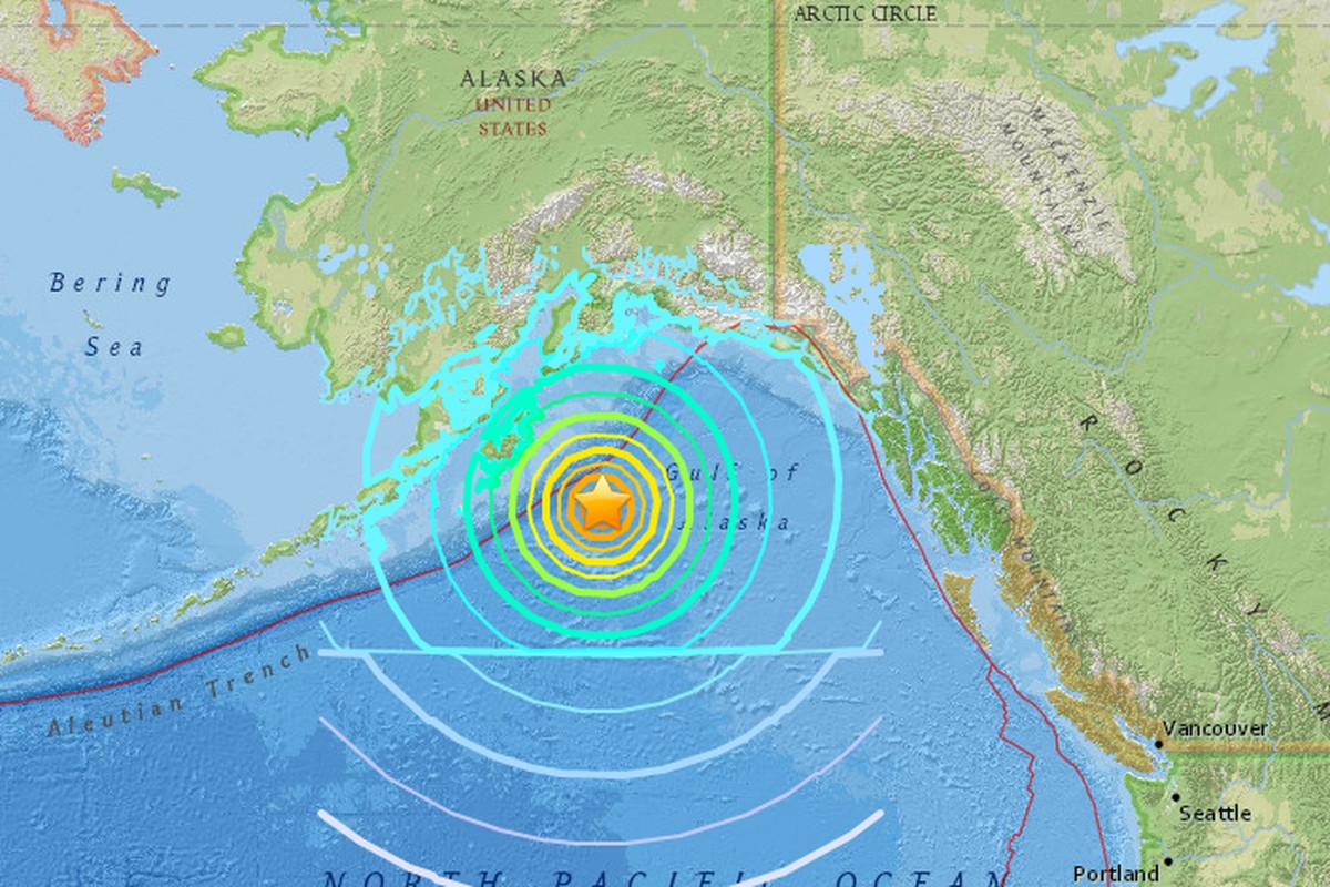 A Powerful Earthquake In Alaska Didn T Trigger A Big