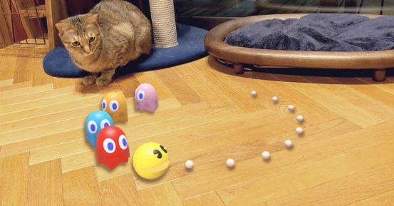 Google adds Pac-Man, Hello Kitty, Gundam mechs and more to AR search