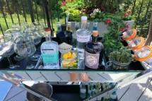 Estrella Beltline Gin And Tonic Bar Cart