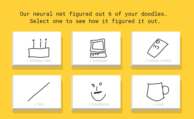 This Google Powered Ai Can Identify Your Terrible Doodles