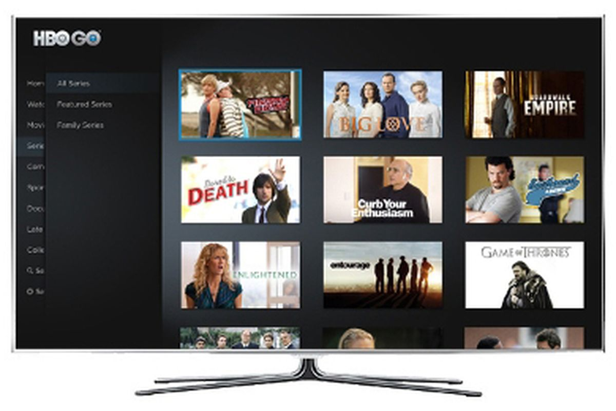 HBO Go now available on select Samsung Smart TVs  The Verge