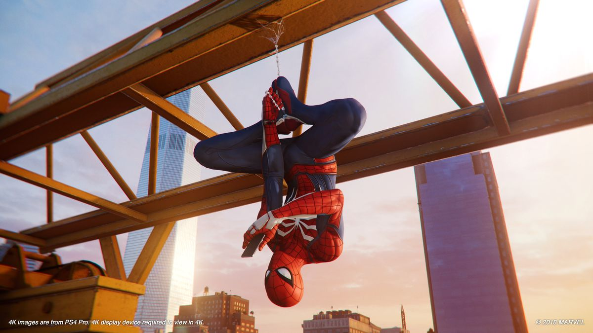 SpiderMan on PS4 review a game that makes you feel like
