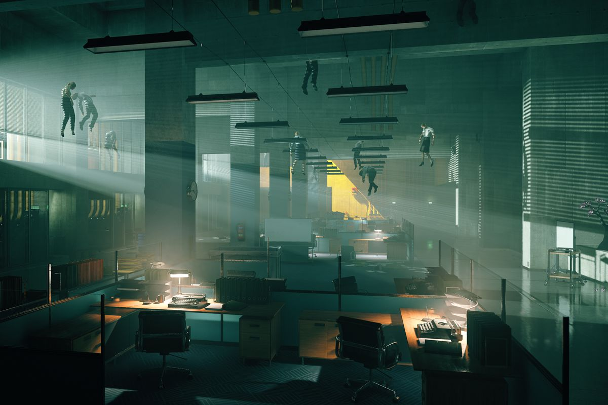 Screenshot from Control video game