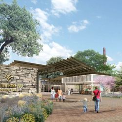 new visitor center at chicago s lincoln park zoo ready to break
