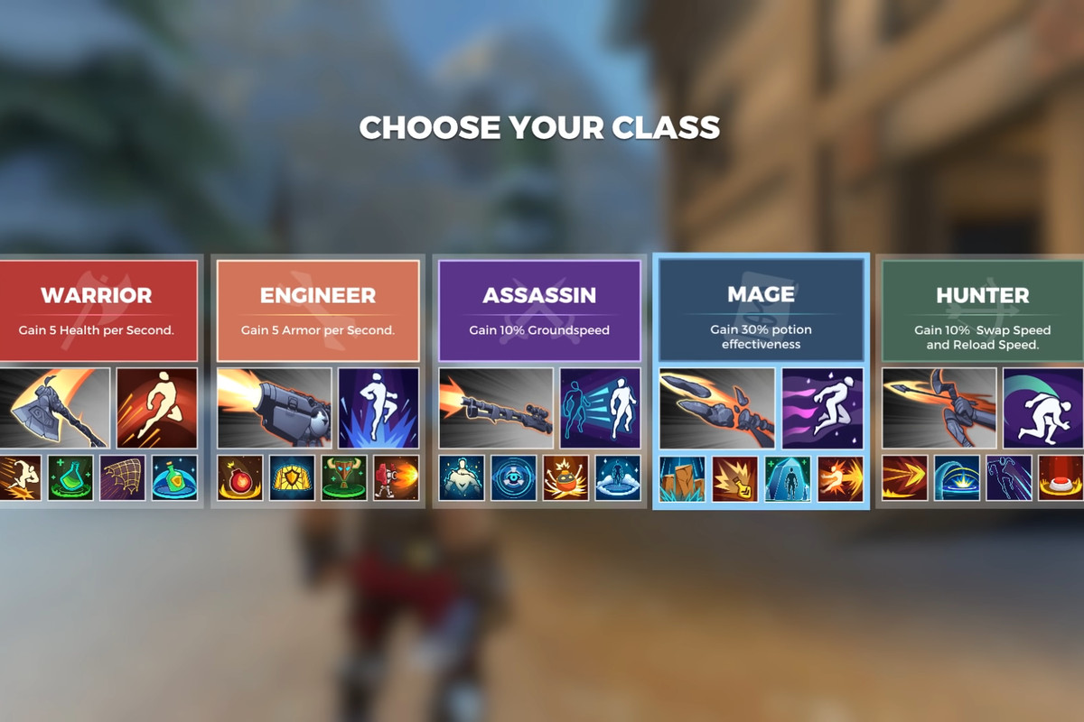 Realm Royale Classes Guide Polygon