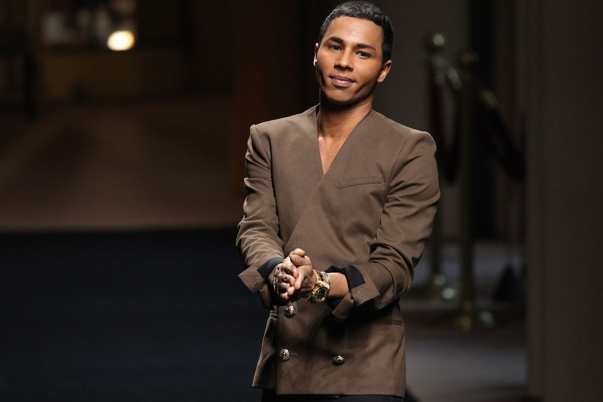 He started at minus 10, massimo piombini, the chief executive of balmain, said of rousting. H&M x Balmain: Olivier Rousteing Wants to Bring Couture to ...
