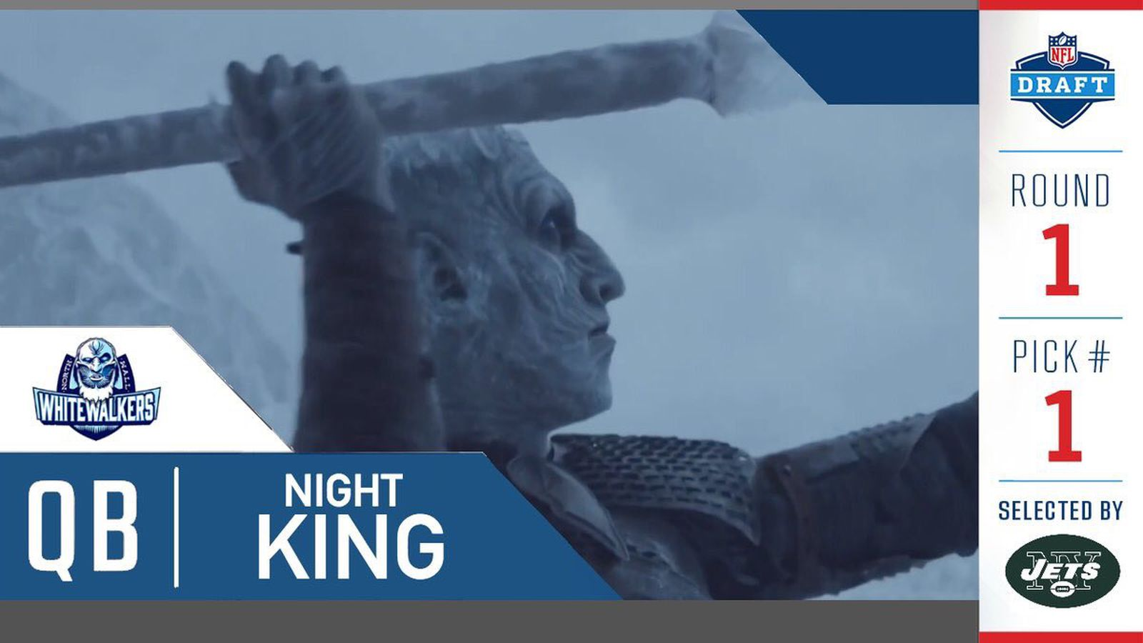 Game Of Thrones Night King Threw A Javelin And Became A