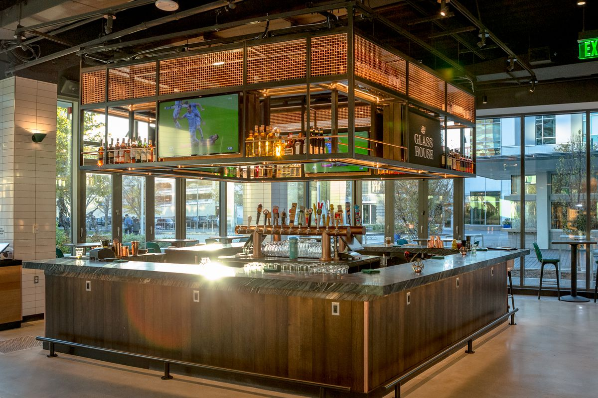 Glass House Is Now Open in Kendall Square  Eater Boston