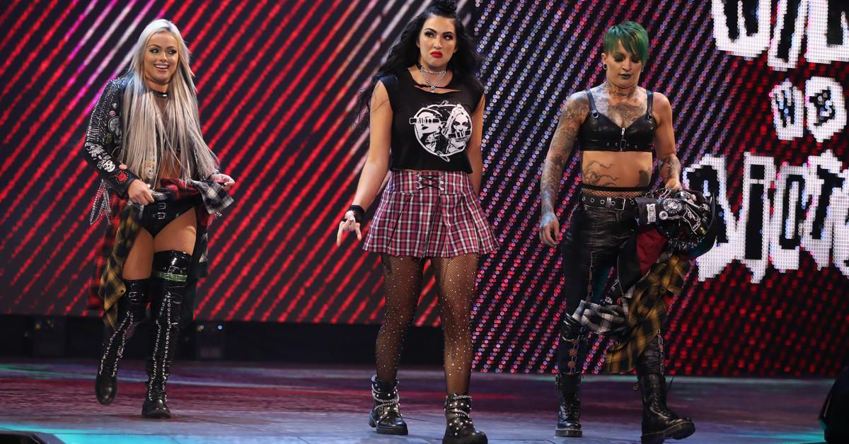 Don't you dare question Billie Kay's punk rock cred!