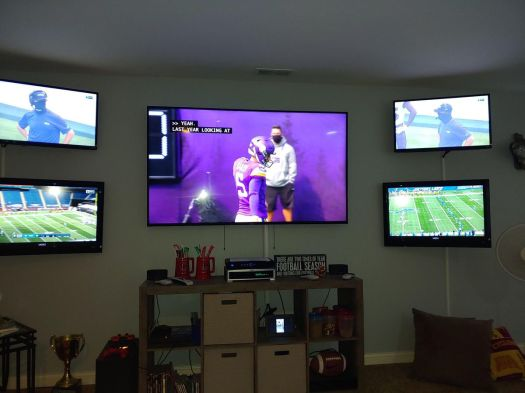 I'm officially not the only one with three TVs in my living room 7