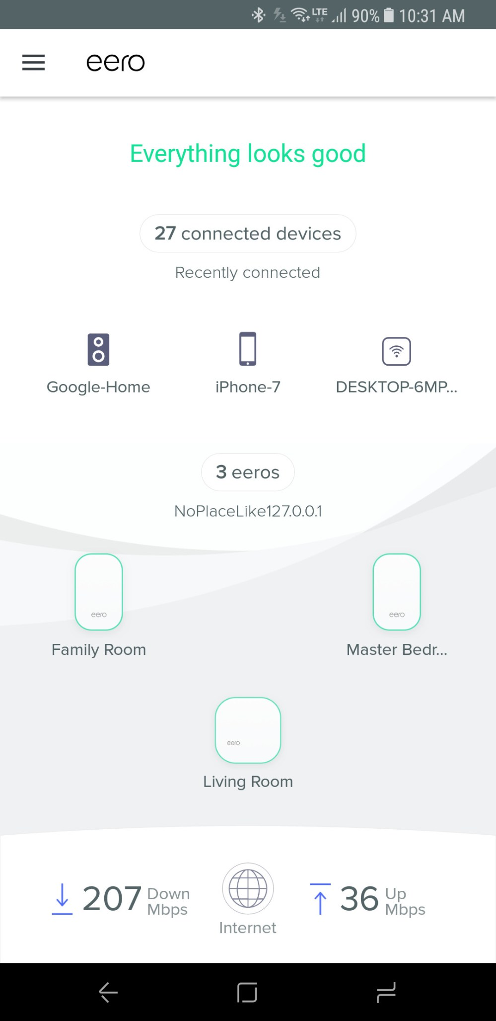 medium resolution of based on my experience in my own four bedroom 2 500 square foot home the new eero performs just as well as the prior version blanketing my home with a